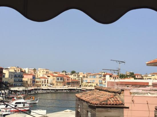 Stoa Rooms : Room 1 with view of harbour