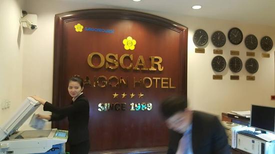 Oscar Saigon Hotel: บริเวณล๊อบบี้ของโรงแรม