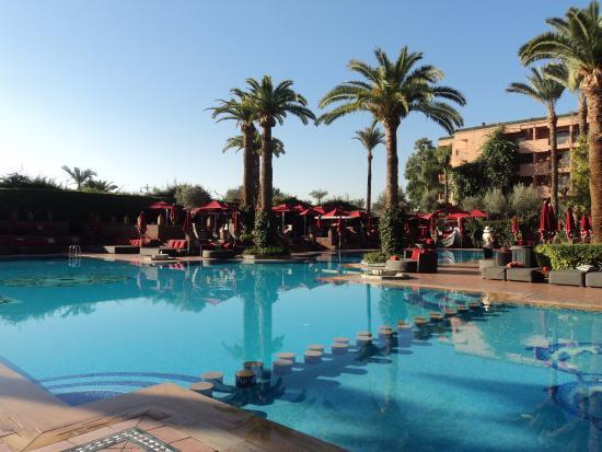 Sofitel la nuit picture of sofitel marrakech lounge and for Aqua piscine otterburn park