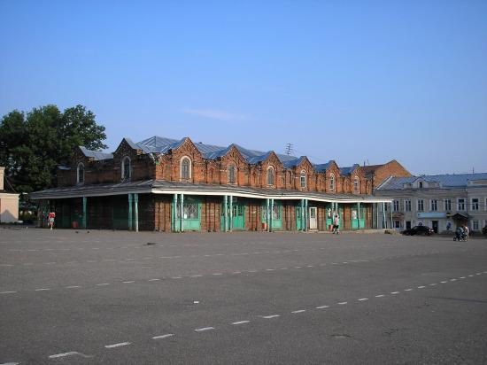 Kashin, Rosja: Торговые ряды