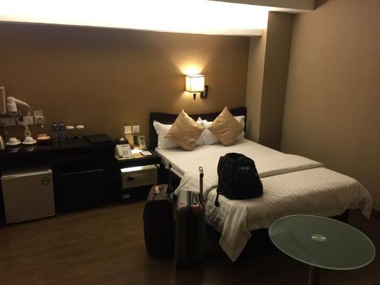 Sunny Day Hotel (Tsim Sha Tsui): ห้องพักสำหรับ 2 คน