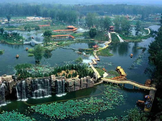 Shandong, Chine : ZaoCounty Tengzhou