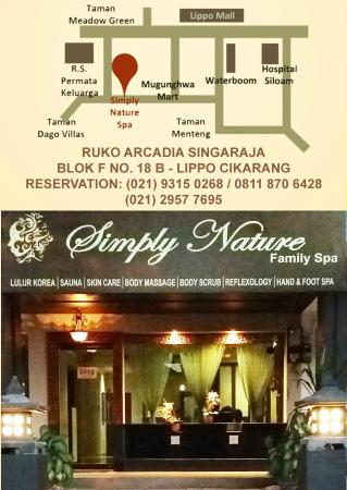 Simply Nature Spa: Address