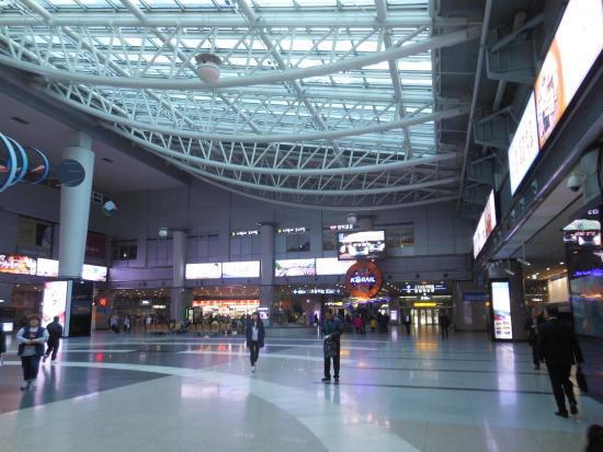 全州駅 - Picture of KTX (Korea...