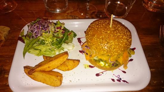 CASA NO NAME : burger cabillaud