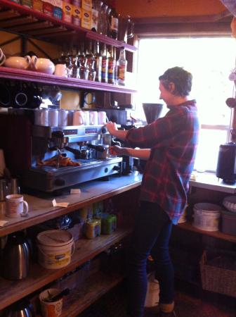 Gumboot Garden: fabulous coffee