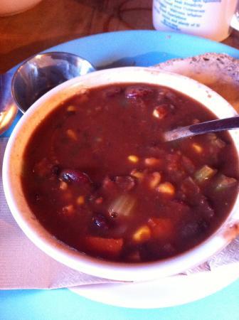 Roberts Creek, Canadá: veggie chilli