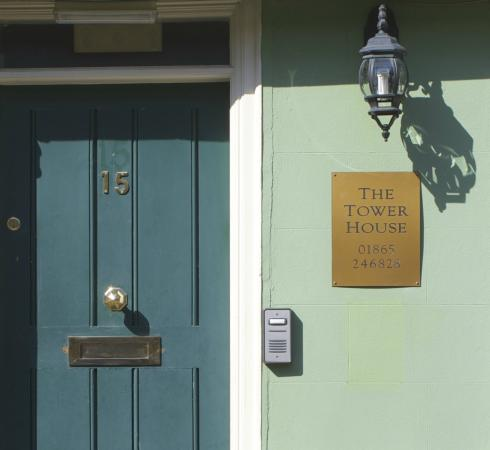 Tower House: Our front door!
