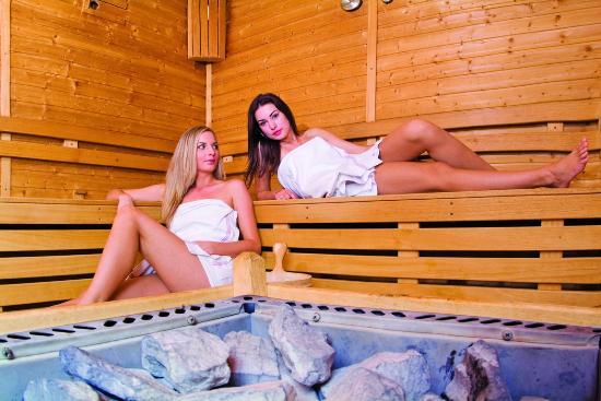 Park Hotel na Baracke: fínska sauna