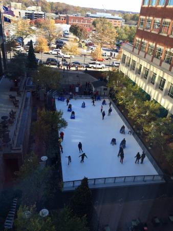 Courtyard Greenville Downtown: View towards Main Street