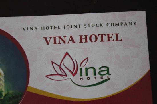 Vina Hotel Hue: La tarjeta del hotel