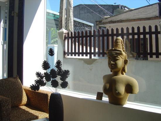 Vina Hotel Hue: Un detalle del restaurante