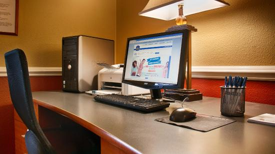 Best Western Mayport Inn & Suites: Business Center