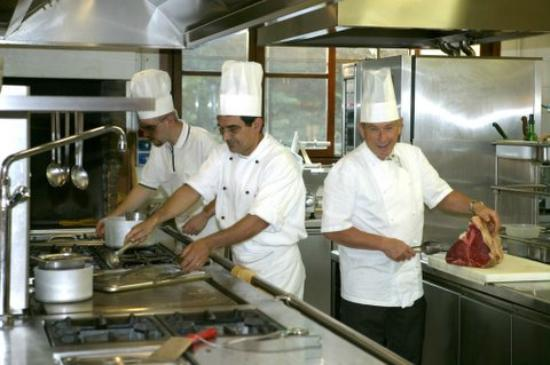 La brigata di cucina dotto di campagna foto di for Ristorante della cabina di campagna