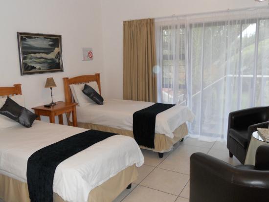 เบโนนี, แอฟริกาใต้: twin room guest house