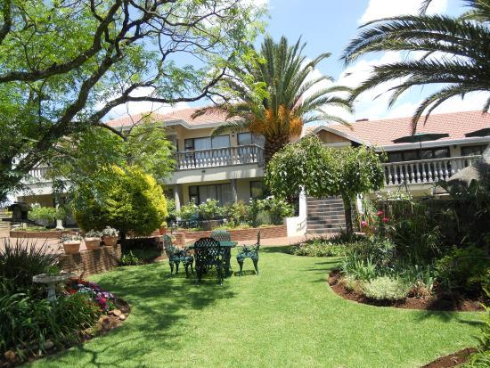 Benoni, جنوب أفريقيا: guest house garden