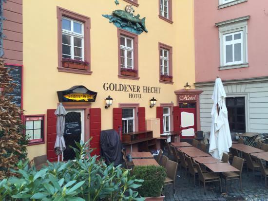 Hotel Goldener Hecht: hotel view