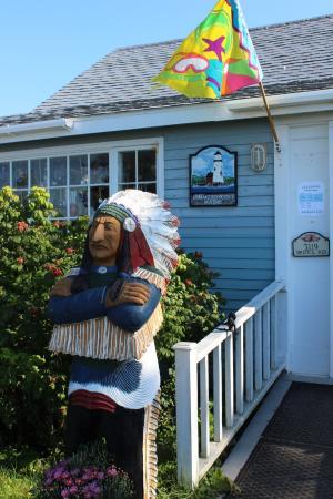 New Harbor, ME: Sea Gull Restaurant & Gift Shop