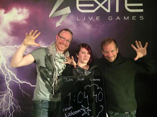 EXITE Live Games: Team Kaboom!