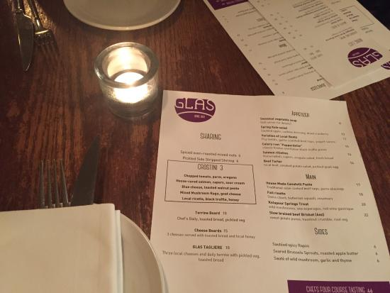 Photo of Restaurant Glas Wine Bar at 1118 Queen St E, Toronto M4M 1K8, Canada