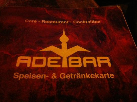 Hotel Mitte Berlin: letreiro dorestaurante
