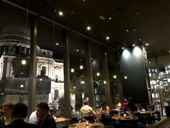 View of St Pauls from Barbecoa - Picture of Barbecoa ...
