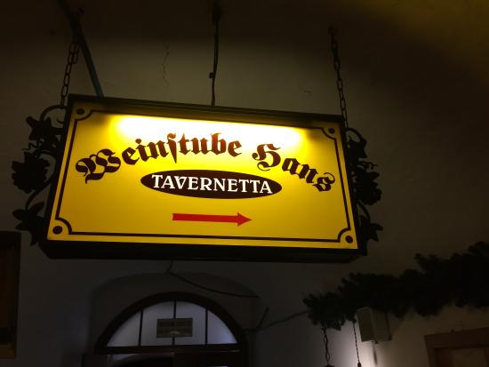Tavernetta Hans Weinstube: photo0.jpg