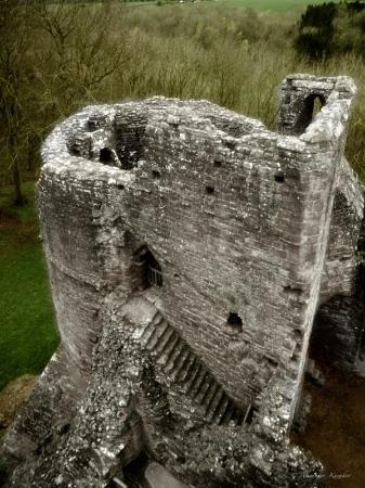 Goodrich, UK: остатки башни