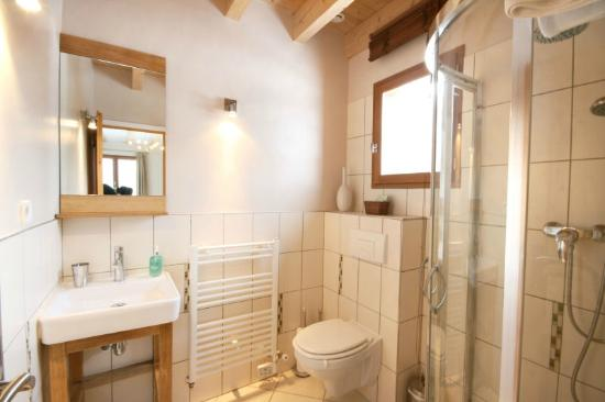 Ensuite Shower Room Chalet Annabelle