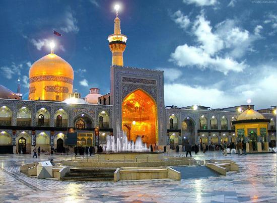 Image result for mausoleum of Imam Reza