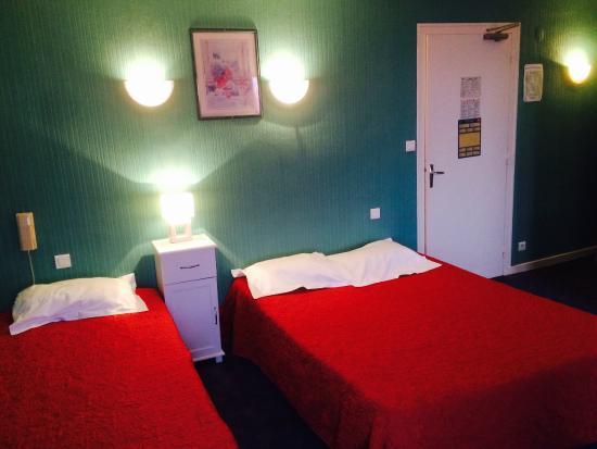 Hotel du Rempart: chambre triple