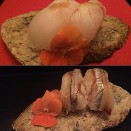 SushiTrue: Niguiri de pejerrey y pesca blanca