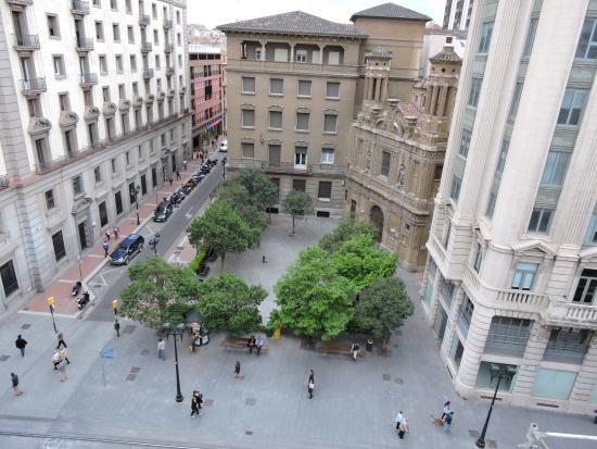 Hotel Oriente: Zicht vanuit de kamer
