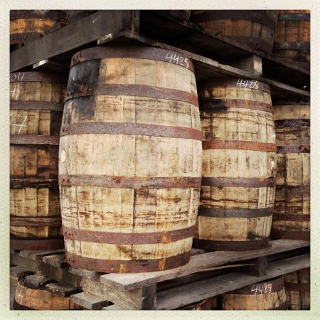 Mount Gay Visitor Centre: Mount Gay aging casks