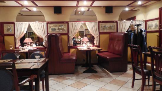 Orient Express : Занавески на окнах, как в поезде