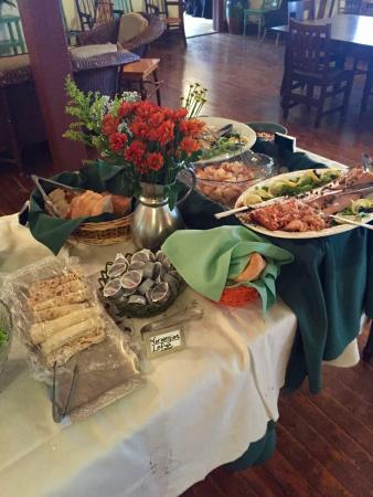 Lakeside, MI: Thanksgiving buffet