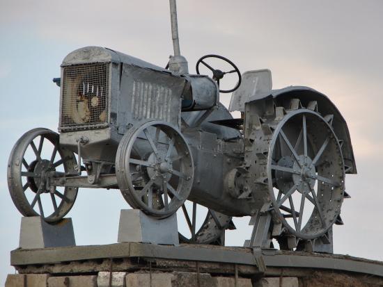 The First Ploughmen Land Tazinskaya Monument
