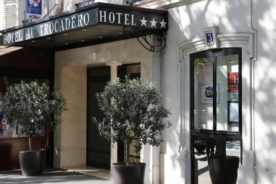 Best Western Au Trocadero : ENTREE DE L'HOTEL