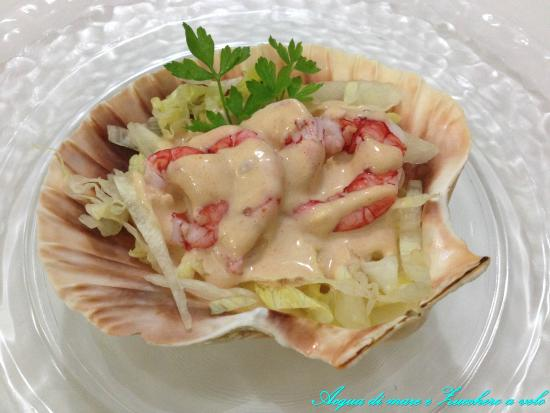 Andrea's : gamberi in salsa rosa
