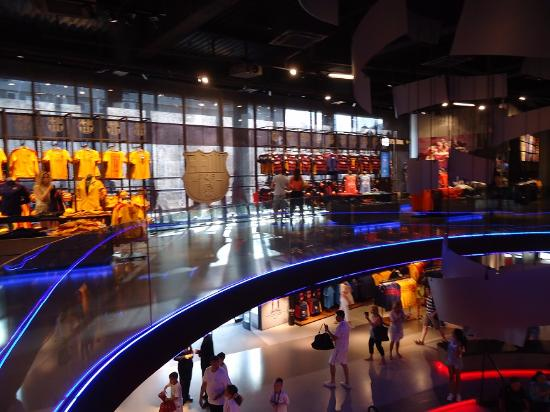 FCBotiga Megastore - Picture of Museu del Futbol Club ...