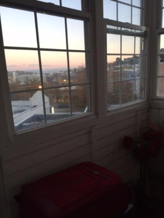 Inn on Castro: The sit-out, looking out into the city