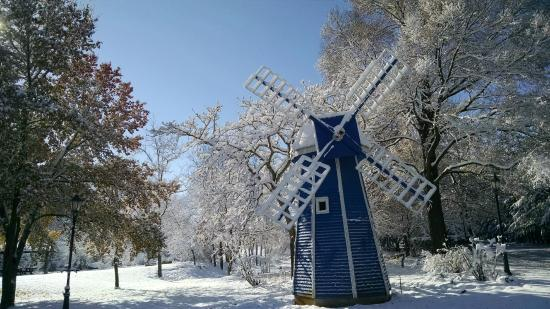 Middlebury, IN: At Krider's Gardens Windmill