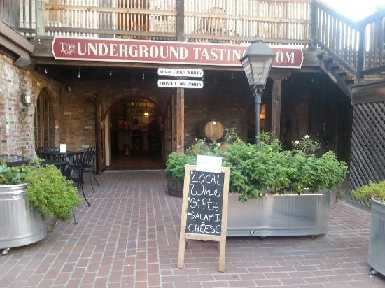 The Undergound Tasting Room