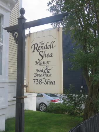 Rendell - Shea Manor: Historic Inn