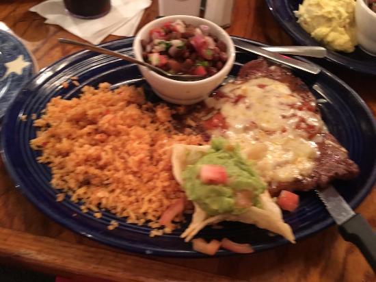 Republic Of Texas Restaurant On The Riverwalk Ranchero Steak