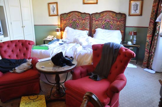 Grand Hotel Continental: the room