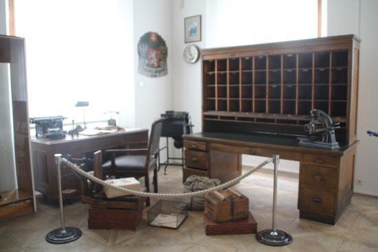 Vyssi Brod, Czech Republic: Модель почтового отделения