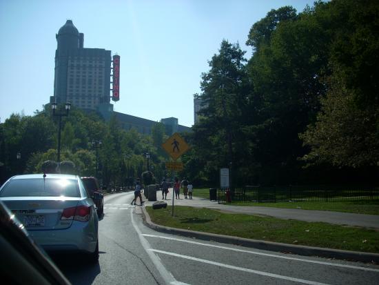 Fallsview Casino Resort: Vista del Hotel