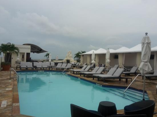 Mayfair Hotel Spa Swimming Pool In The Terrace