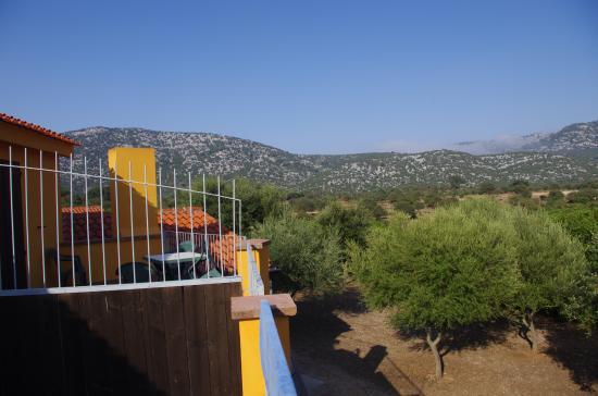 Rifugio Cooperativa Goloritze: Il panorama dalle camere del rifugio